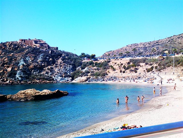 Strand von Cala Cortina
