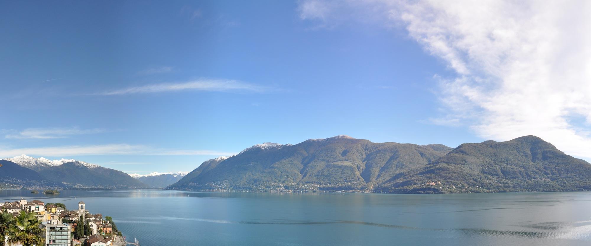 Panoramablick Tessin