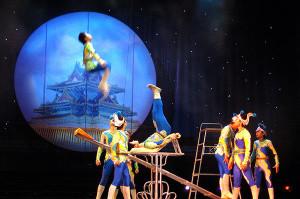 Die Fliegende Akrobaten Show
