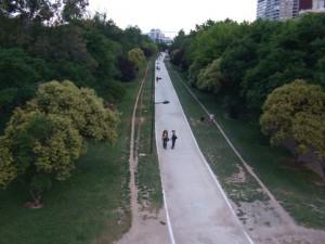 Bild Flussbettpark Valencia