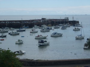 Bild eines Hafens