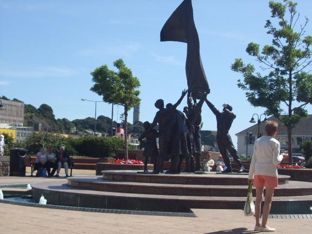 Libearation monument auf Jersey