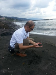 Sand Schwarzes Meer